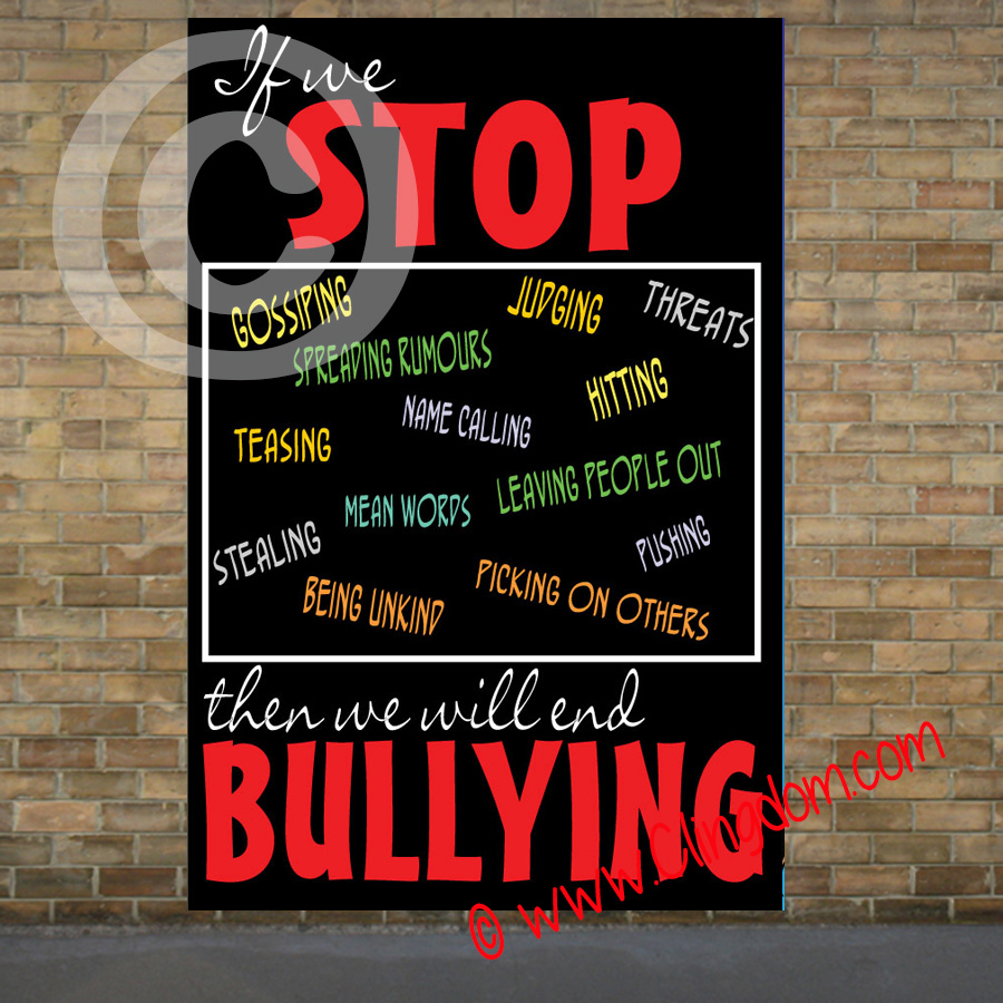 how to stop bullying in schools wikihow