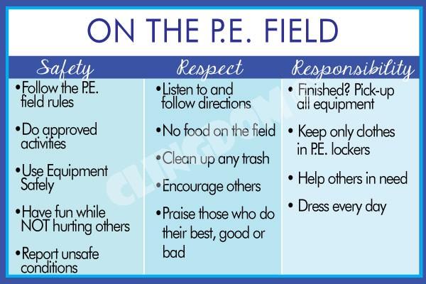 PBS PBIS On The PE Field Clingdom