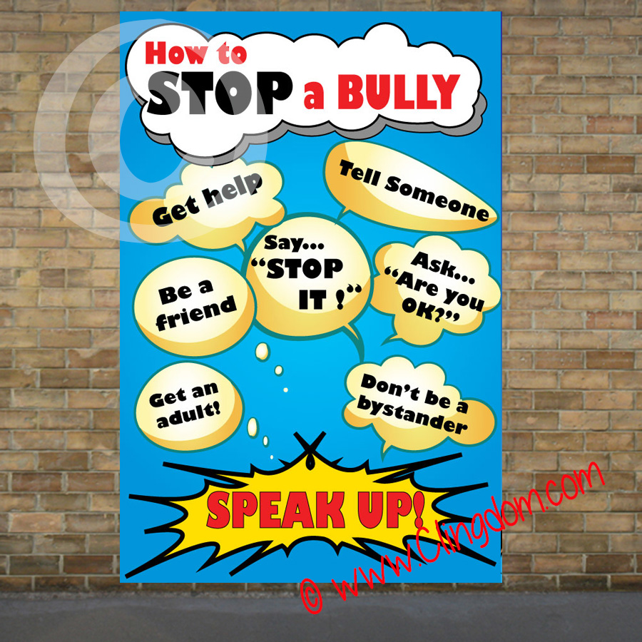 how to help a bully stop bullying