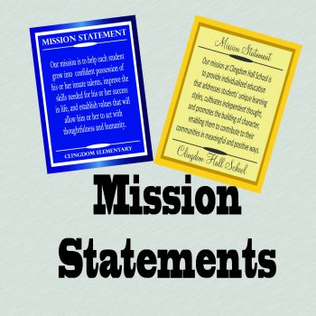 Mission Statements (on PVC)