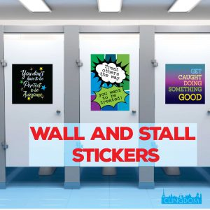Wall & Stall Stickers